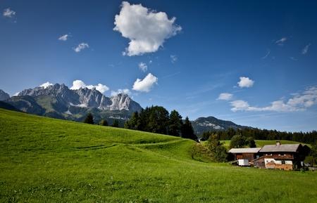Mountain View - Alps, Austria, Europe. photo