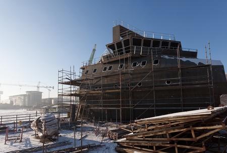 construction navale: La construction navale de Gdansk, en Pologne