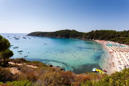 Mediterranean island in Tuscany, Italy.