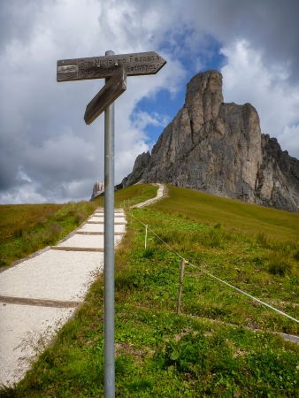 Dolomites Mountain - Italy photo