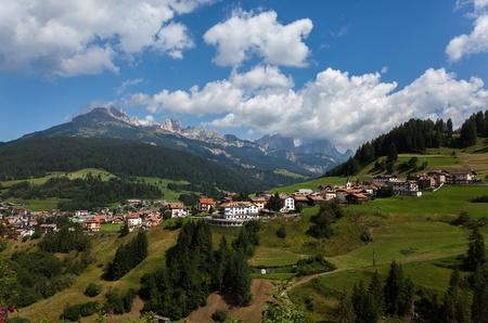 The Italian Dolomites in summer photo