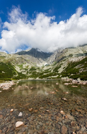 Famous place in High Tatras Slovakia,  Europe  photo