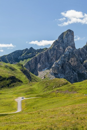 Giau Pass, Dolomites, Italy  photo