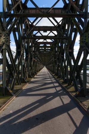 Historical bridge over the river Vistula, Tczew - Poland Stock Photo - 22477194