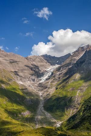 hohe tauern: Hohe Tauern National Park - glacier in Alps  Stock Photo