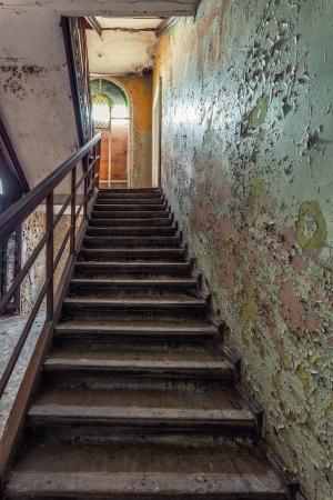 masonic: The building Masonic Lodge in ruins, Gdansk - Poland  Stock Photo
