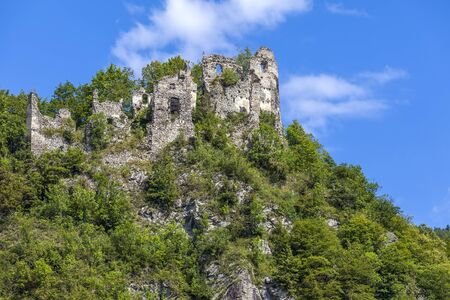 stary: The ruins of the castle Stary Hrad - Slovakia