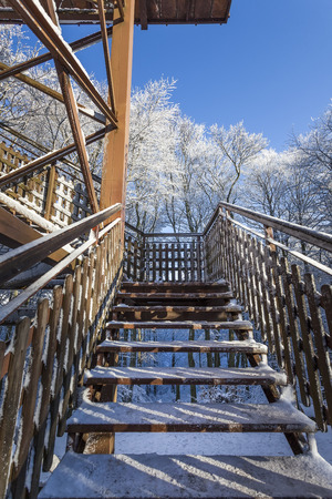 attraction: Tourist attraction - tower - winter