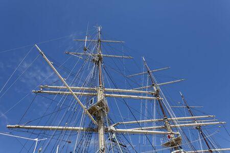 masts: Masts of the great, historic sailing ship