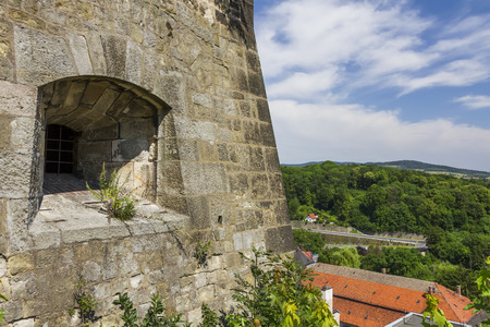Klodzko Fortress, with the city in the background - Poland