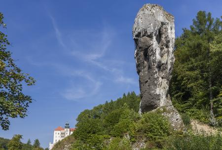 Tall (30 meters) limestone monadnock