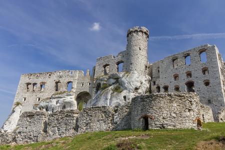 ogrodzieniec: Castle in Ogrodzieniec - Poland, Europe Stock Photo