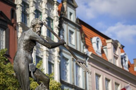 king neptune: Neptunes Fountain - Gdansk, Poland