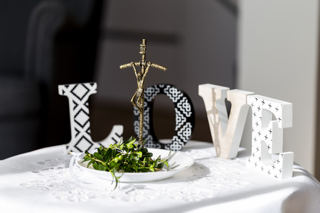Items for the blessing before marriage