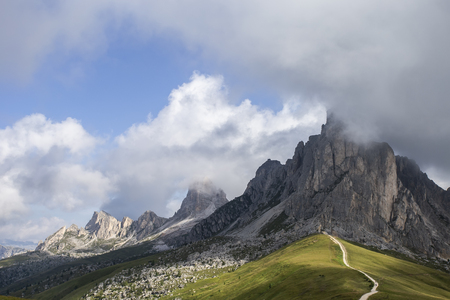 Day in the mountains - Passo Giau - Dolomites, Italy