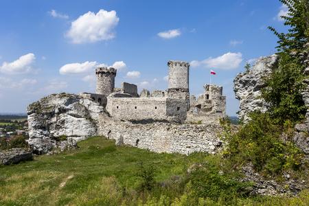 Ruins of the castle Ogrodzieniec - Poland