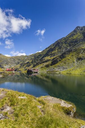 Glacier lake in the Fagaras Mountain
