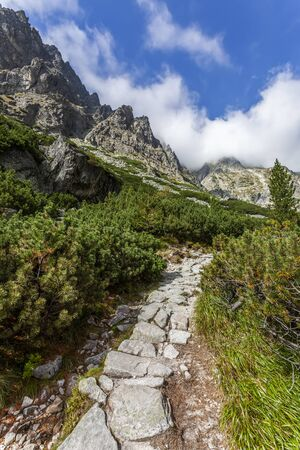 Trail in the High Tatras - Slovakia