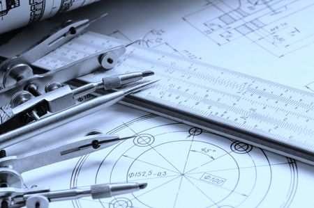 Drawing detail and drawing tools photo