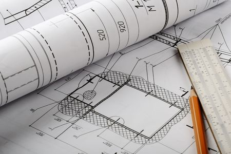Drawing detail and drawing tools Stock Photo - 7217776