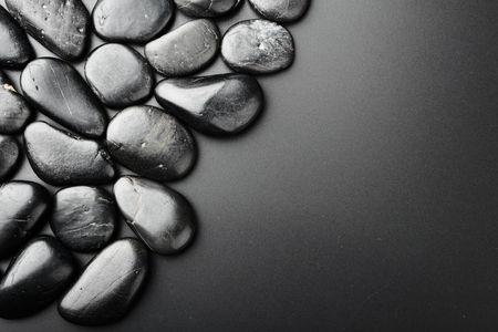 cadre de pierre noire