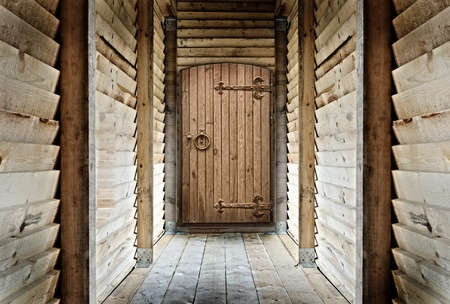 old wooden room photo