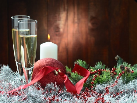 Merry Christmas and Happy New Year Stock Photo - 11324483