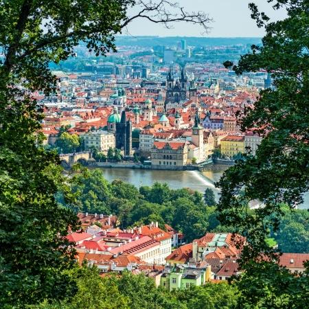 birdseye: birds-eye view on the Prague