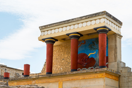 Knoss palase on the Crete,Greece
