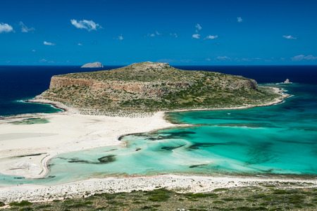 Balos beach .Crete,Greece Standard-Bild