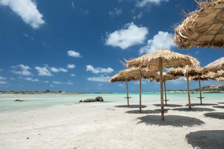 beach on the Elafonisi (Elafonissi) island.Crete,Greece Banco de Imagens