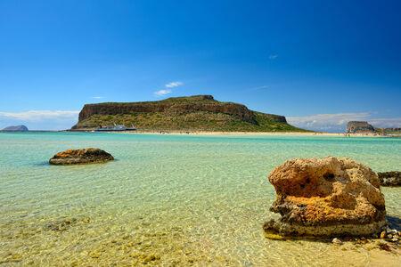 Ballos beach .Crete,Greece photo
