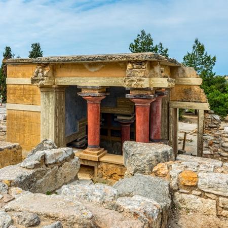 Knoss palase on the Crete,Greece photo