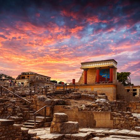 grecia antigua: Knoss palase en el Creta, Grecia