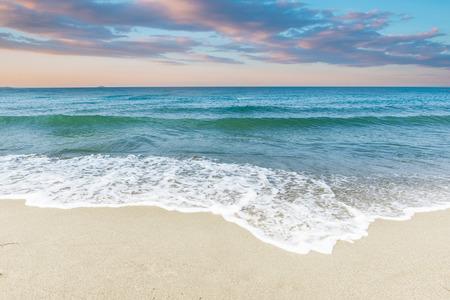 ギリシャ、クレタ島の夕日 写真素材
