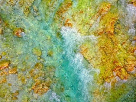 山川ソカの空中写真 写真素材