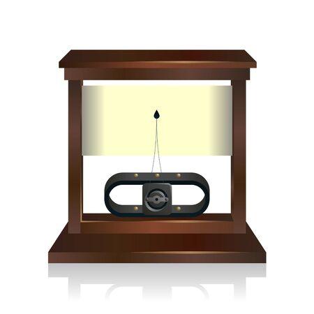 photorealistic vector illustration of a galvanometer