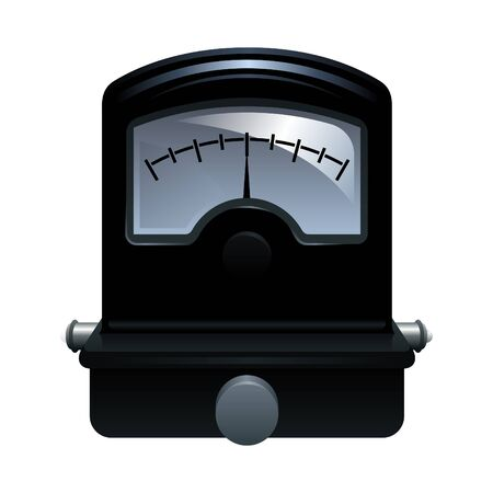 photorealistic vector illustration of a galvanometer Vector
