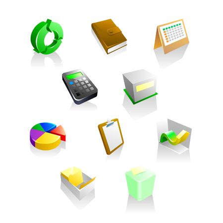 business iconset collection Illustration