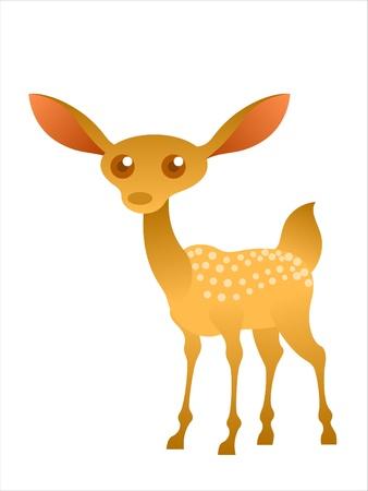 deer  spot: cartoon dear