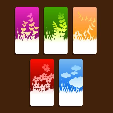 nature themed tags