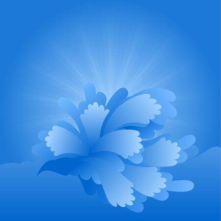 disperse: blue water splash background