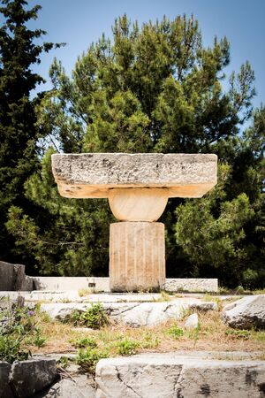 Asklepieion, also known as Asclepeion, in Kos was an ancient Greek and Roman sacred centre of healing based on the teachings of Hippocrates.