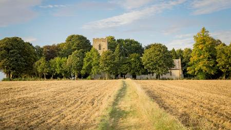 Church in English countryside