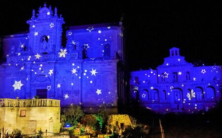 Duomo Cathederal at Christmas Lecce Italy