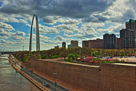 Saint Louis Arch grounds and riverfront