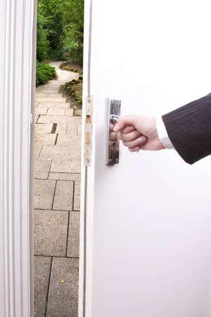 Open door to the future