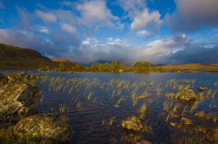 Rannoch Moor Scotland Stock Photo