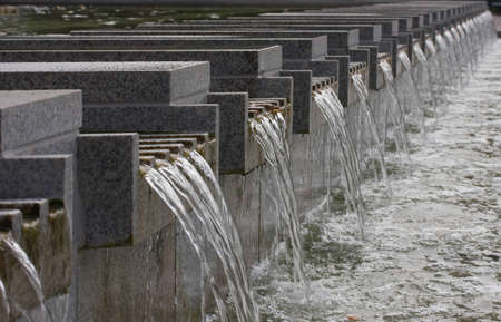 Repeated pattern of Water fall