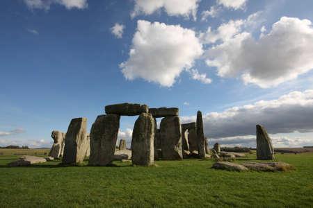 Stonehenge on  a summer day Stock Photo